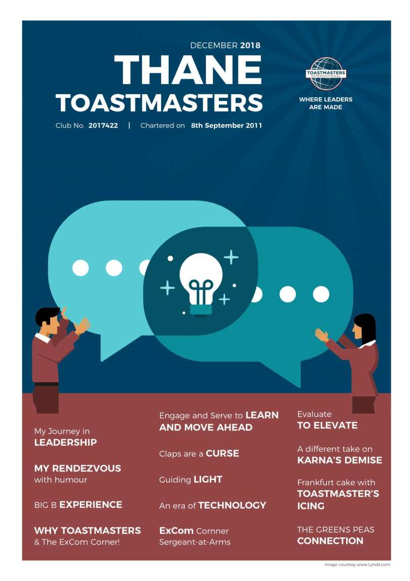 Thane Toastmasters Newsletter 2018 Final