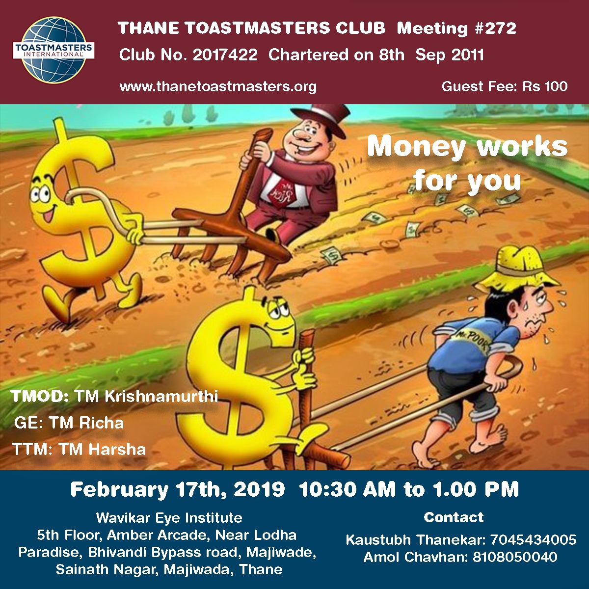 Thane Toastmasters Meeting 272