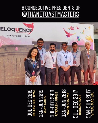 Club President at Eloquence 2019