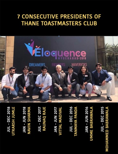 Club Presidents at Eloquence2018