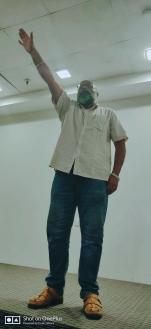 TM Sriram as the Table topic speaker